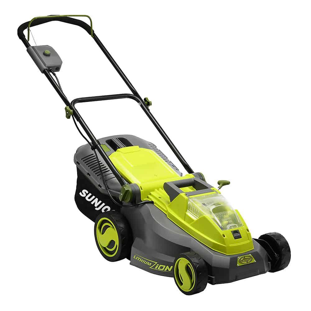 9. Sun Joe iON16LM Lawn Mower