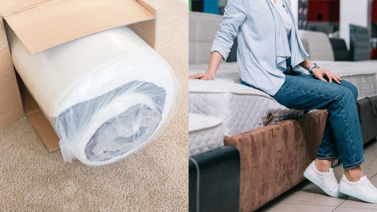 Differences Between A Mattress In A Box & Traditional In-Store Mattresses