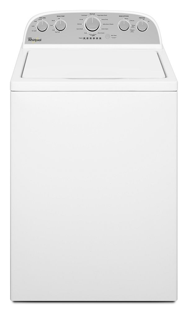 Whirlpool WTW5000DW High-Efficiency Top Load Washer