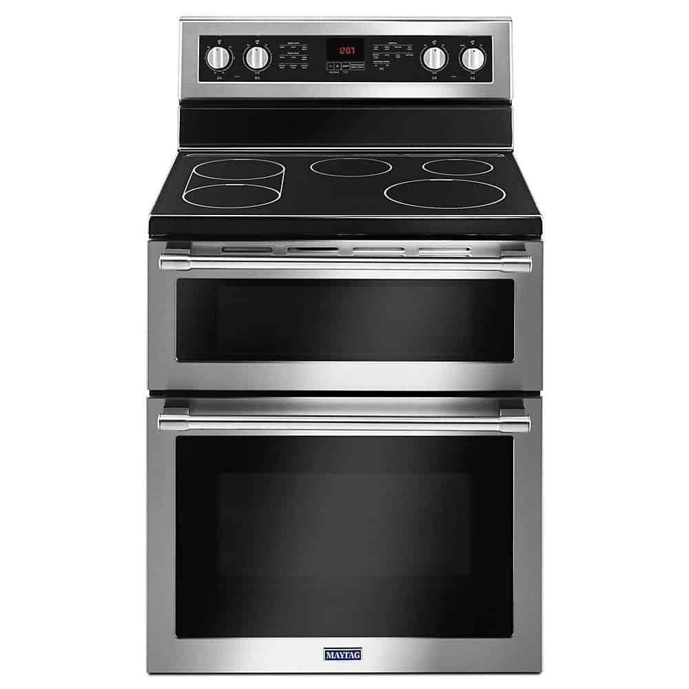 Maytag YMET8800FZ Double Oven Electric Range