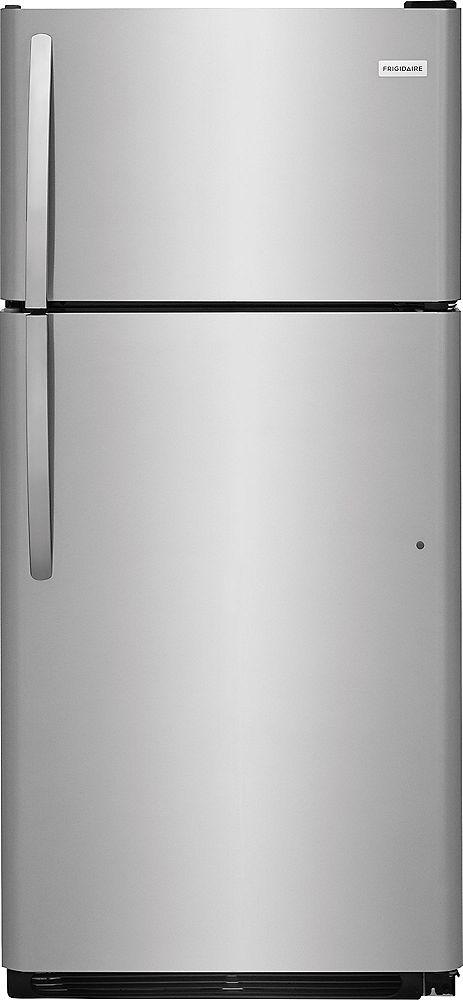 Frigidaire FFTR1821TS 30-inch Top Freezer Refrigerator