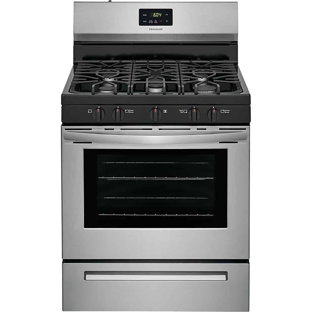 Frigidaire FCRG3052AS Freestanding Gas Range with Quick Boil