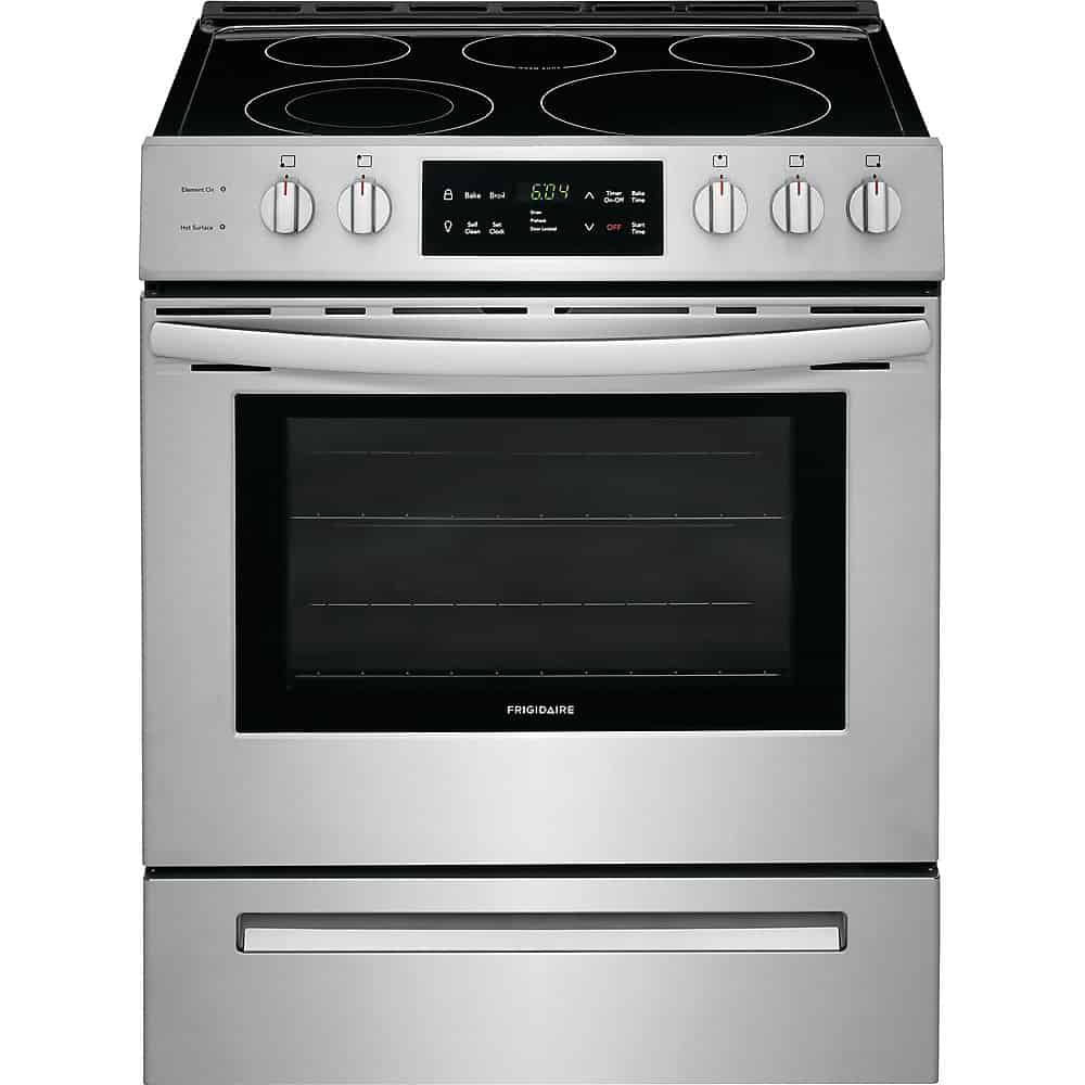 Frigidaire CFEH3054US Front Control Freestanding Electric Range
