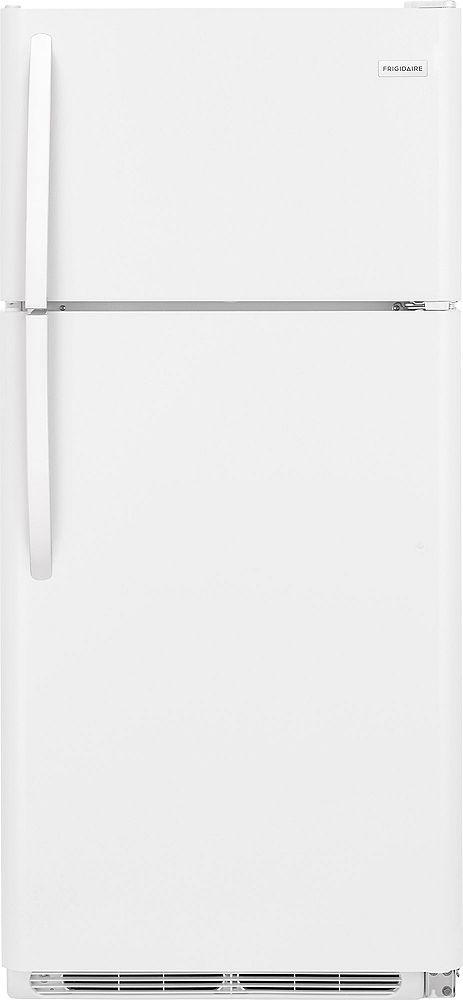 Frigidaire FFTR1814TW 30-inch Top Freezer Refrigerator