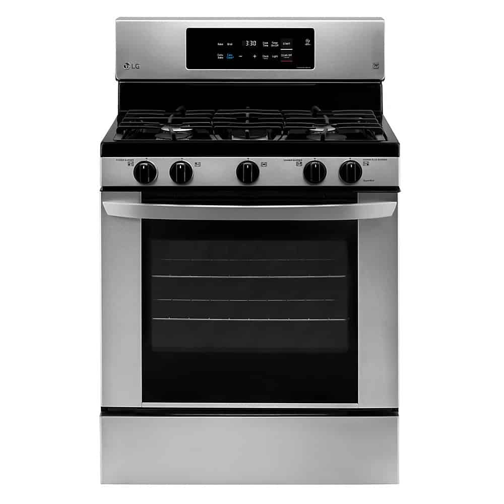 LG Electronics LRG3060ST Single Oven Gas Range