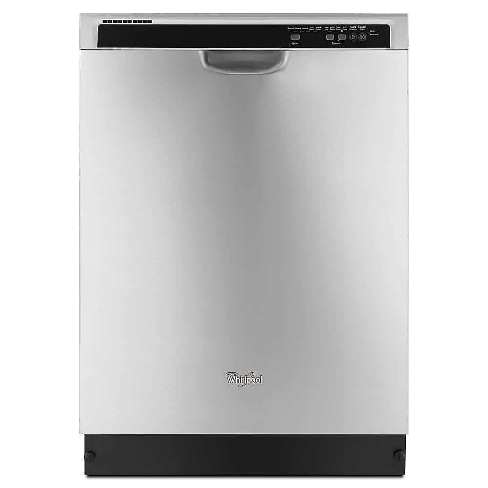 9. Whirlpool WDF540PADM Front Control Dishwasher