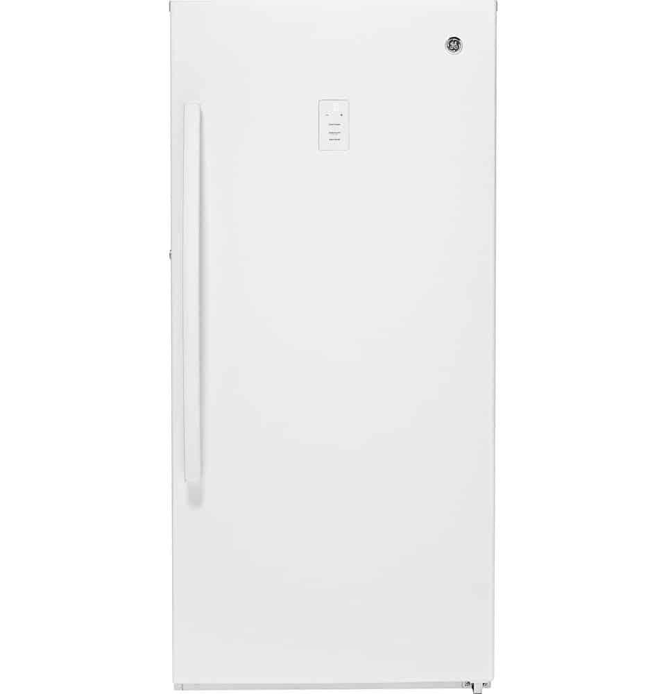 GE FUF14DLRWW 14.1 cu. ft. Frost-Free Upright Freezer