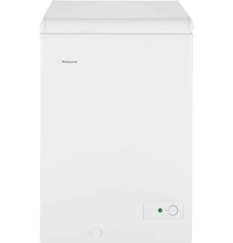 Hotpoint HCM4SMWW 3.5 cu. ft. Chest Freezer