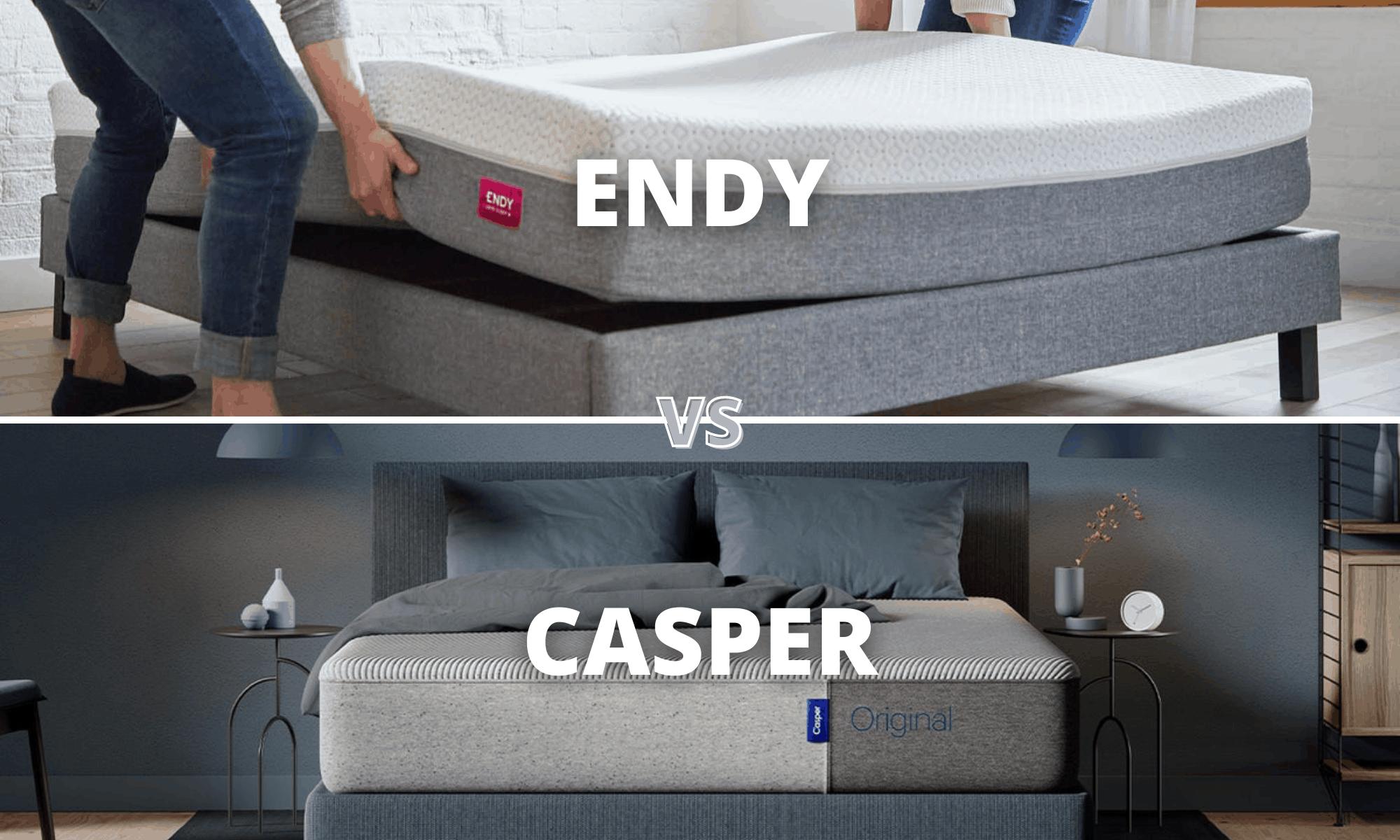 Endy Vs Casper Mattress Canada 2021 Comparison Review