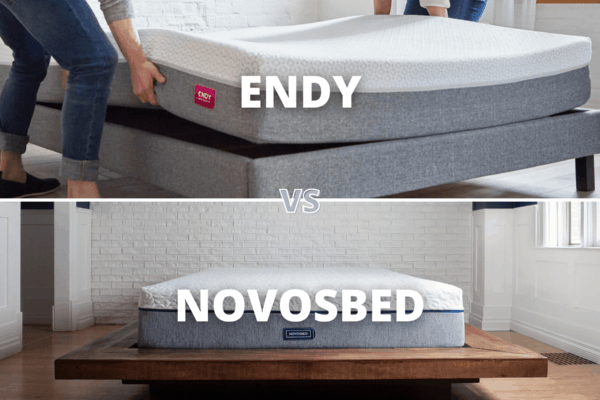 Endy Vs Novosbed Mattress Canada 2021 – Comparison Review