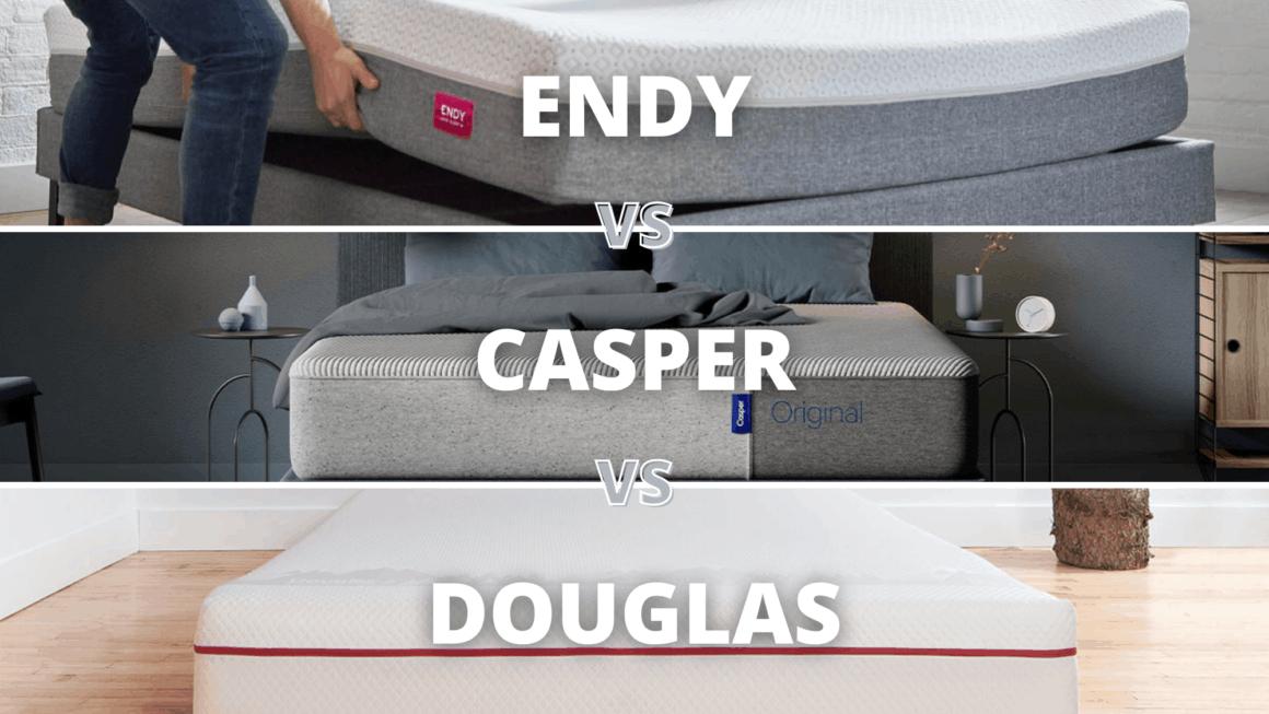 Endy Vs Casper Vs Douglas Mattress Canada 2020 – Comparison Review
