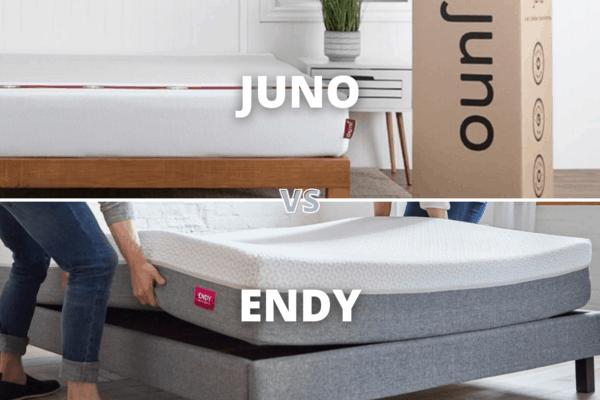 Juno Vs Endy Mattress Canada 2021 – Comparison Review